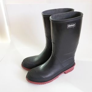 LACROSSE Black Kid Rainboots Size 5